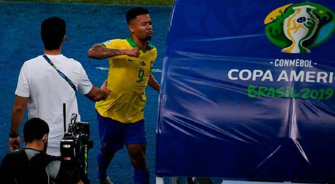 Жезус отримав серйозне покарання за агресію у фіналі Копа Амеріка