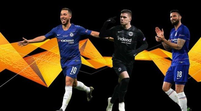 Найкращий гравець сезону 2018/19 у Лізі Європи: УЄФА оголосив номінантів, серед яких – кривдники Динамо і Шахтаря