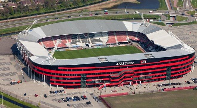 Стадион АЗ пострадал от ужасных разрушений за несколько дней до матча против Мариуполя в Лиге Европы