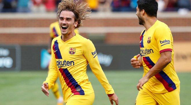 Гризманн – о дебютном голе за Барселону: Надеюсь, это только начало