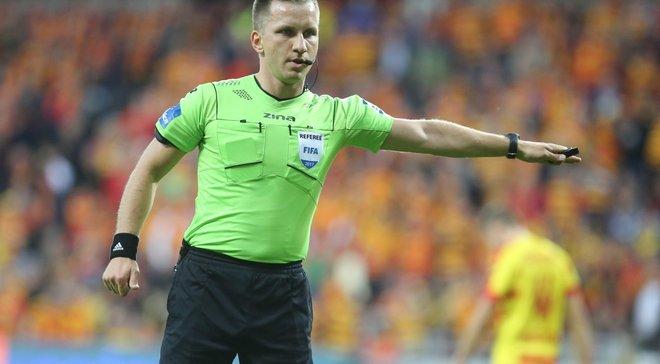 УЕФА назначил арбитров на ответные матчи Зари и Мариуполя в Лиге Европы