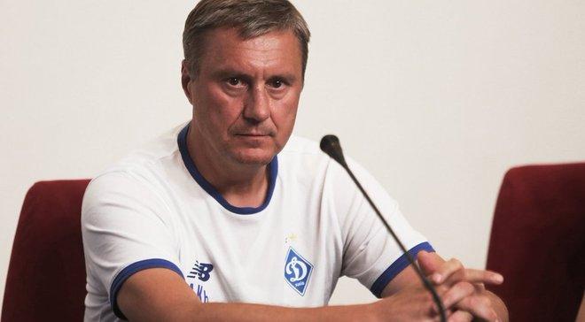 Динамо – Брюгге: передматчева прес-конференція Олександра Хацкевича