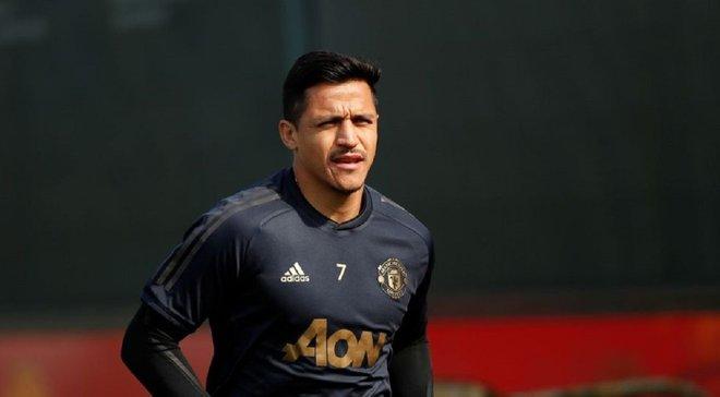 Санчес устроил потасовку с молодым форвардом Манчестер Юнайтед на тренировке