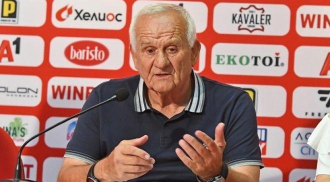 Тренер софійського ЦСКА Петровіч: Лобановський був найкращим тренером, багато чому навчився в нього