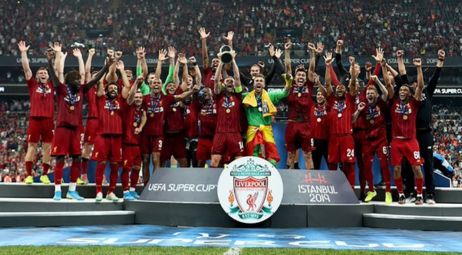Ливерпуль догнал Реал по количеству побед в Суперкубке УЕФА
