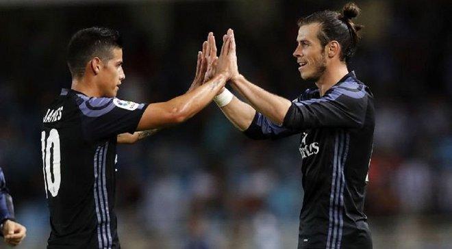 Сельта – Реал: Хамес та Бейл потрапили до заявки мадридців на матч 1-го туру Ла Ліги