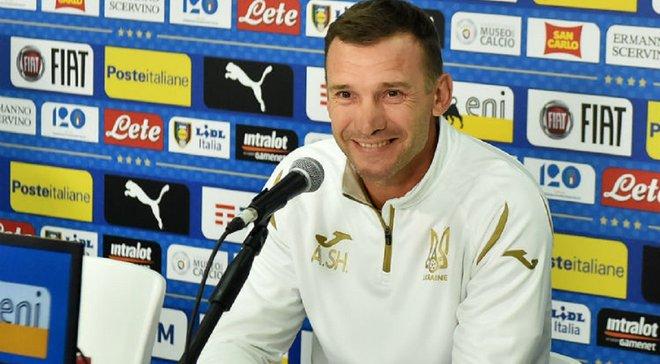 Шевченко оголосив заявку збірної України на матчі проти Нігерії та Литви