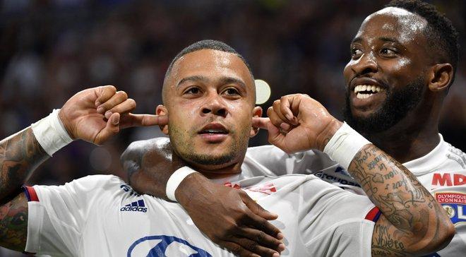 Ліон розтрощив Анже з тенісним рахунком у матчі чемпіонату Франції