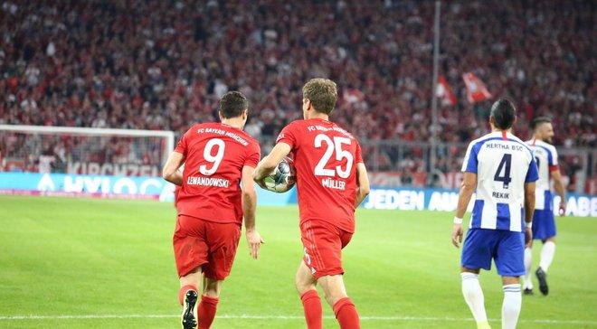 Баварія – Герта – 2:2 – відео голів та огляд матчу