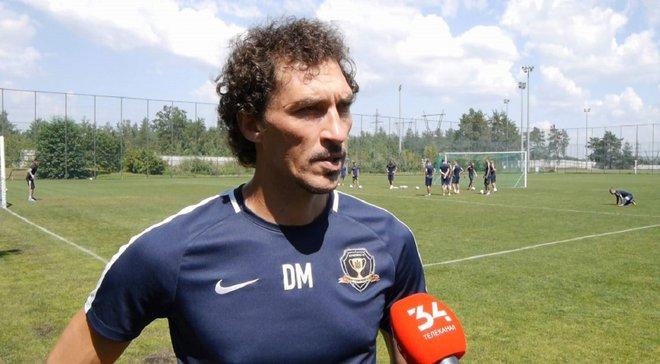 Михайленко розповів, що йому не подобається в грі СК Дніпро-1