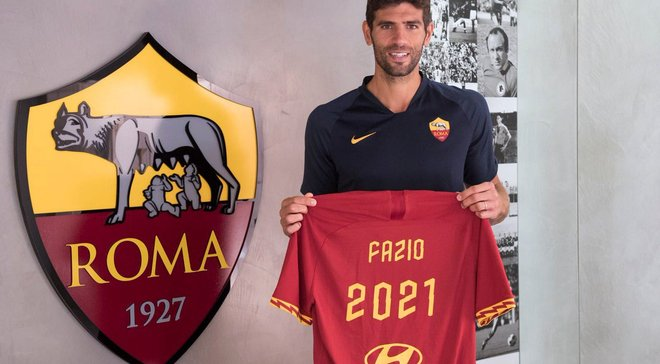 Рома продлила контракт с Фасио