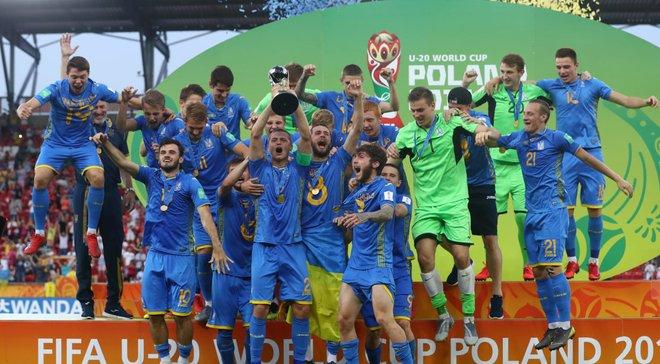 Игроки сборной Украины U-20 получат премиальные за победу на чемпионате мира, – Цыганык