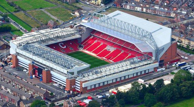 Ліверпуль планує значно збільшити кількість місць на Енфілді