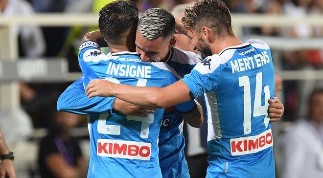 Наполи одержал победу над Фиорентиной в феерическом матче с семью голами, Ювентус одолел Парму: 1-й тур Серии А, суббота