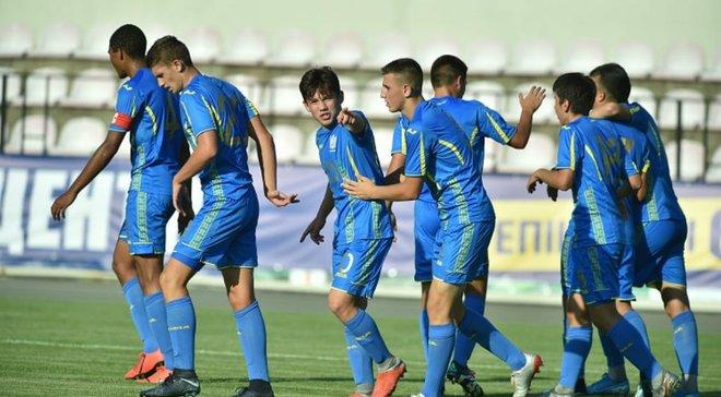 Сборная Украины U-17 стартовала с победы на турнире имени Банникова