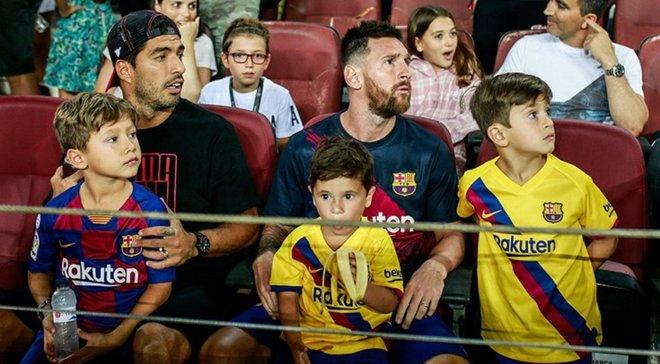 """Сын Месси сконфузился, радуясь промаху игрока Барселоны – Суареса это """"возмутило"""""""