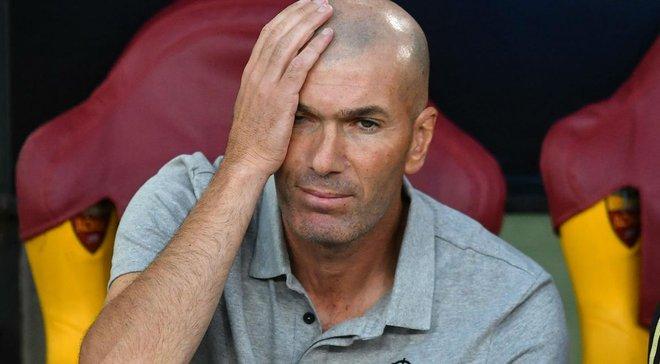 Зидан теряет доверие руководства Реала – для француза наступает момент истины
