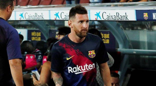 Мессі може не зіграти проти Осасуни – аргентинець повернеться на поле лише в середині вересня