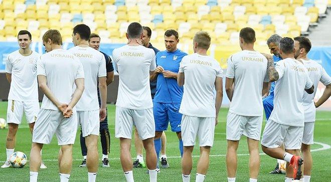 Збірна України проведе відкрите тренування на НСК Олімпійський напередодні матчів проти Литви та Нігерії