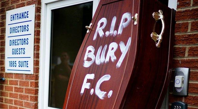 Бері виключений з Футбольної ліги Англії після 125 років перебування в ній