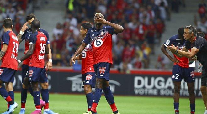 Лига 1: Лилль разбил Сент-Этьен, Марсель одержал первую победу в сезоне