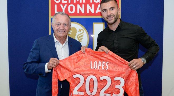 Ліон продовжив контракт з основним голкіпером