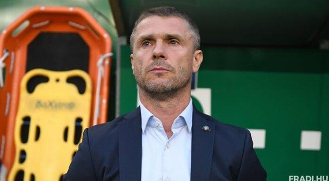 Ребров: Ференцварош должен исправить ошибки из первого матча Лиги Европы против Судувы