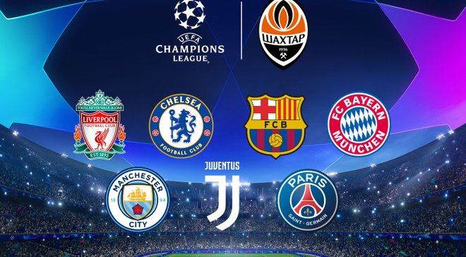 Ліга чемпіонів 2019/20 – результати жеребкування групового турніру