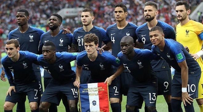Дешам огласил заявку сборной Франции на матчи против Албании и Андорры
