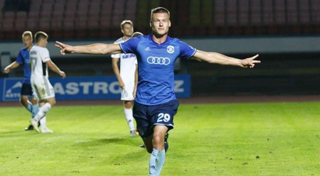 Хобленко допоміг Динамо Брест перемогти Славію Мозир у матчі з 6 голами