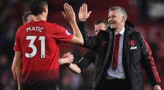 Матіч назвав Сульшера відповідальним за невдачі Манчестер Юнайтед