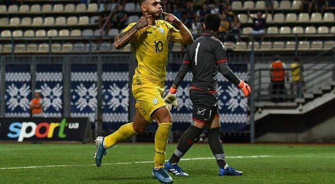 Украина U-21 – Мальта U-21 – 4:0 – видео голов и обзор матча