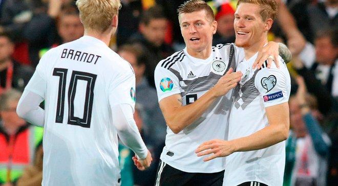 Євро-2020: Північна Ірландія – Німеччина: перемога німців на класі, уроки пресингу від ірландців і топовий матч Брандта