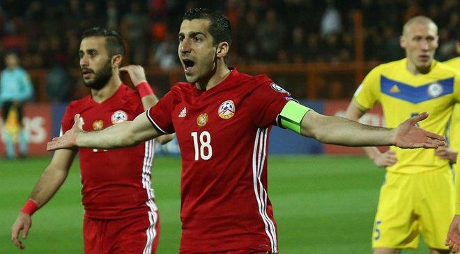 Перший дубль Мхітаряна за збірну у відеоогляді матчу Вірменія – Боснія та Герцеговина – 4:2