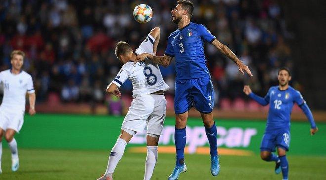 Евро-2020: Италия одержала тяжелую победу над Финляндией в группе J и продолжила свою победную серию