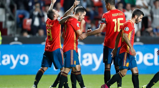 Испания – Фарерские острова – 4:0 – видео голов и обзор матча