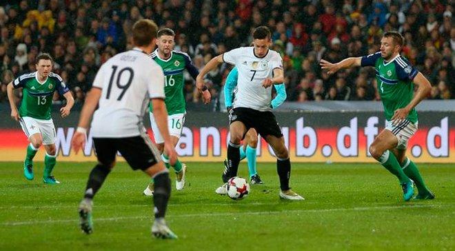 Північна Ірландія – Німеччина: онлайн-трансляція матчу кваліфікації Євро-2020 – як це було