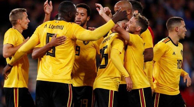 Шотландия – Бельгия – 0:4