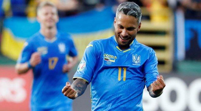 Марлос эффектно забил Лунину на тренировке сборной Украины