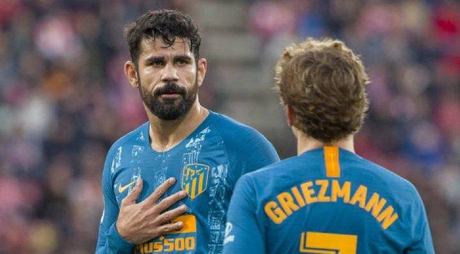 Коста: Я не пытался уговорить Гризманна не переходить в Барселону – он хотел играть с Месси и Суаресом