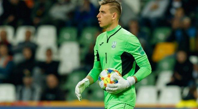 Лунін назвав основні проблеми збірної України у товариському матчі з Нігерією
