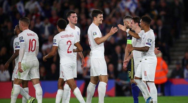 Злива голів у відеоогляді шаленого матчу Англія – Косово – 5:3