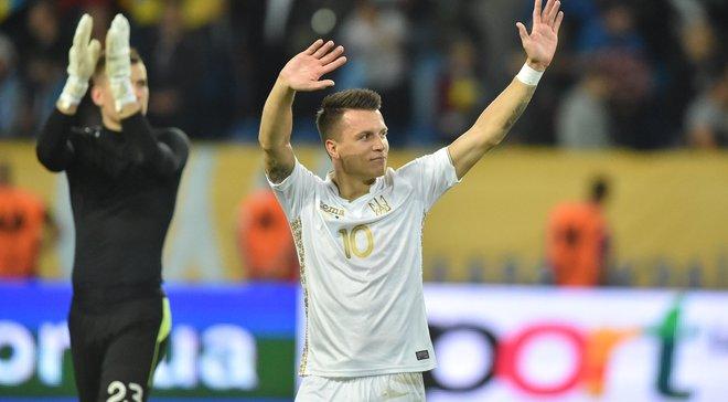 """""""Это топ-класс"""", – Коноплянка оценил игру Лунина в матче с Нигерией"""