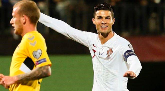 Роналду озвучив завдання збірної Португалії на матчі проти України та Люксембургу