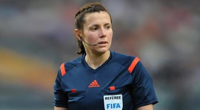 Украинские арбитры будут работать на матче женской Лиги чемпионов