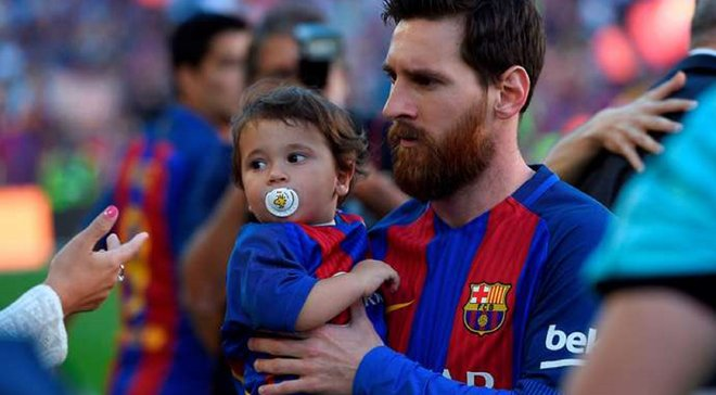 Сын Месси отпраздновал гол в стиле отца – милость дня