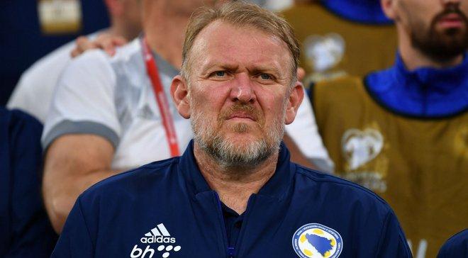 Просинечки вернулся в кресло тренера Боснии и Герцеговины – заявление специалиста отклонили