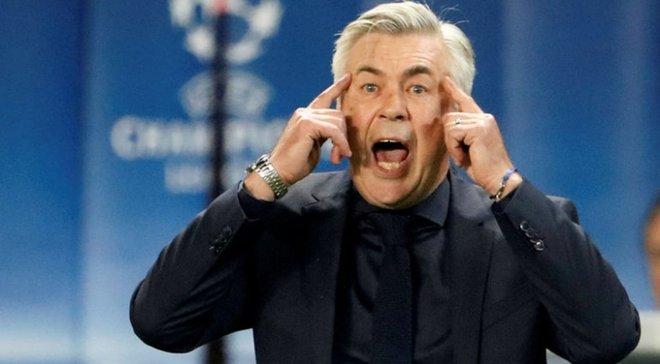 """""""Де ми будемо переодягатися у матчі з Ліверпулем?"""" – Анчелотті жорстко """"наїхав"""" на владу Неаполя через ремонт стадіону"""