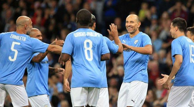 Манчестер Сіті провів прощальний матч для Компані – герой не вийшов на поле, а легенди видали шоу з красивими голами