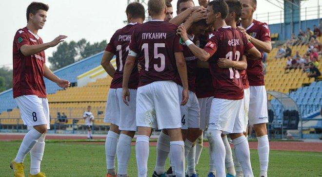 Вторая лига: Ужгород уверенно переиграл Оболонь-Бровар-2